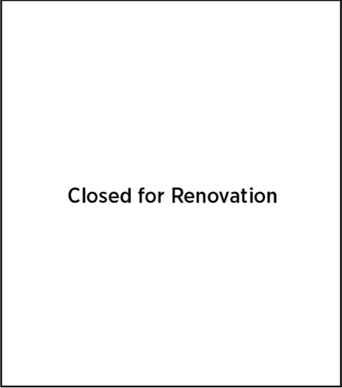 3rd floor Bobst Library closed for renovation.